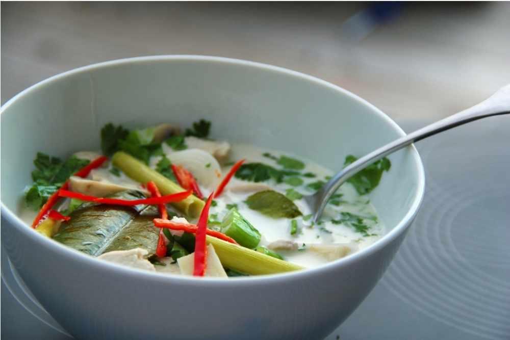 Comida da Tailândia