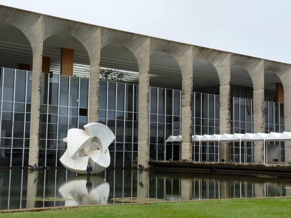 Atrações: Itamaraty - Brasília- DF